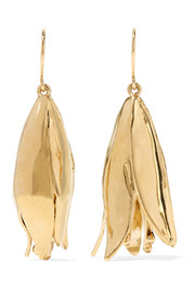 Aurélie Bidermann Demetria gold-plated earrings