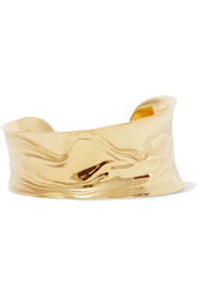 Leigh Miller Anticlast gold-tone cuff