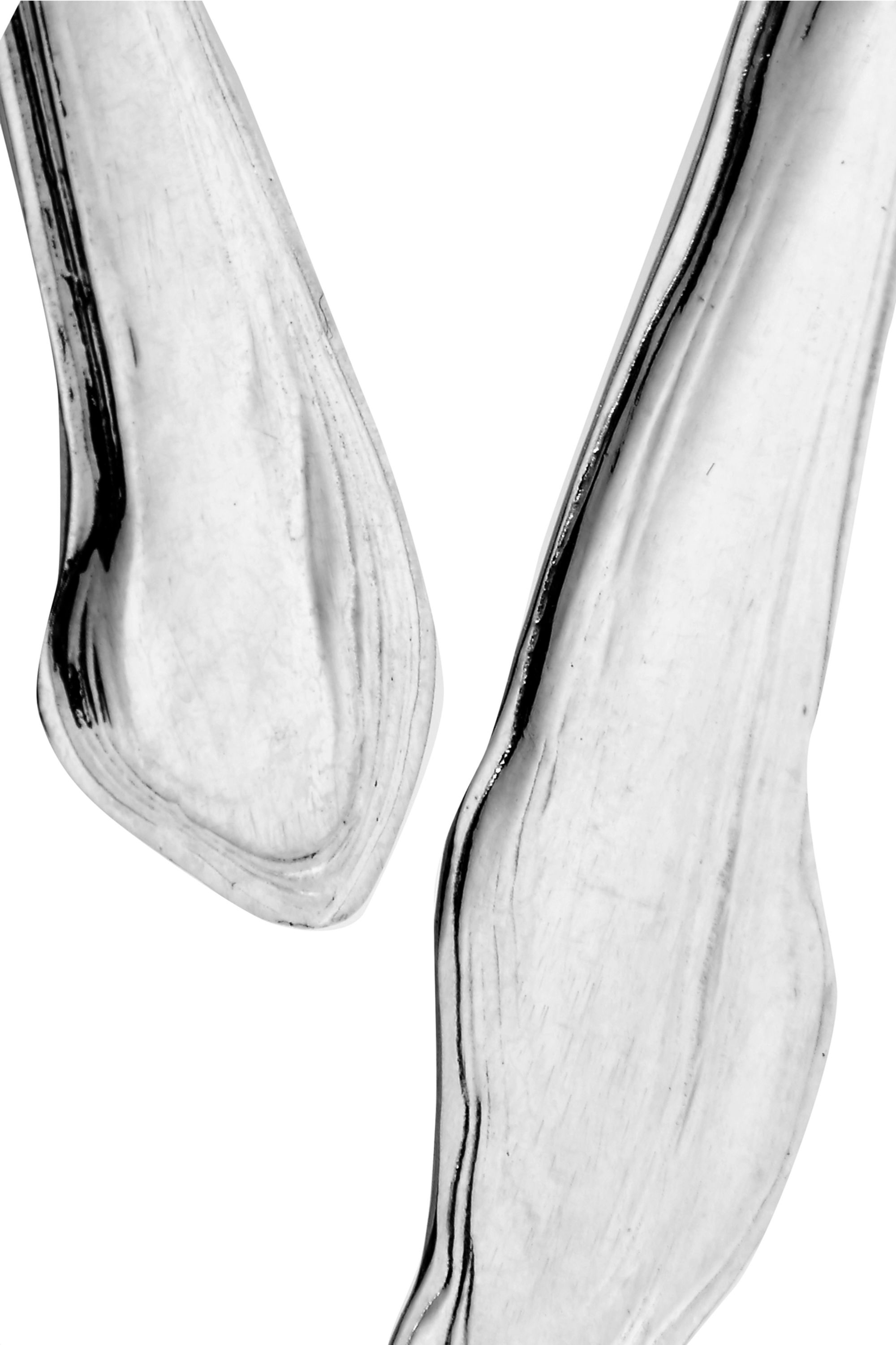 Leigh Miller Ebb And Flow silver earrings