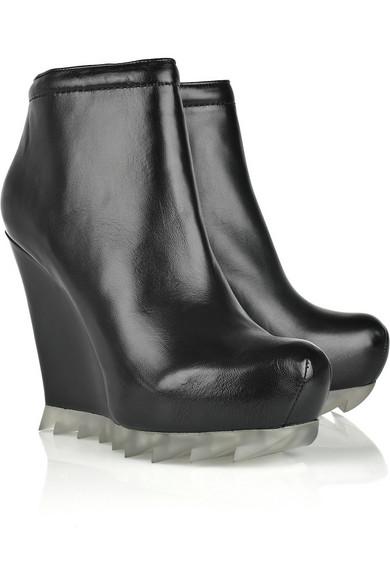 Camilla Skovgaard Leather Wedge Ankle Boots new xFQhGhgU1V