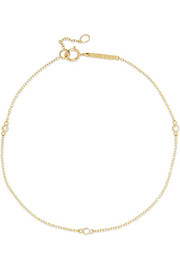 Diamond Dot 14-karat gold diamond bracelet