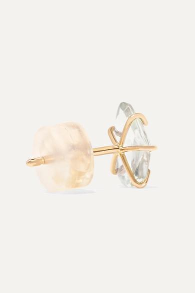 14-karat Gold Sapphire Earrings - one size Melissa Joy Manning Y0ZZPA2nhG