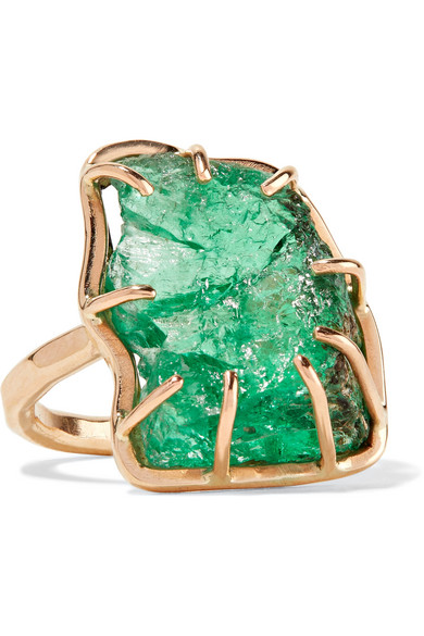 14-karat Gold, Turquoise And Diamond Ring - 6 Melissa Joy Manning