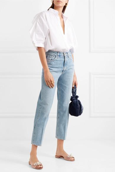 Miu Miu Verzierte Pantoletten aus Satin Steckdose Neuesten Kostenloser Versand Shop Zuverlässig Angebote Online-Verkauf Billig Verkauf 2018 Neue 1pn2y7KXe