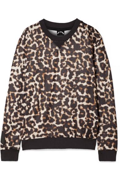 The Upside - Lulu Leopard-print Jersey Sweatshirt - Leopard print