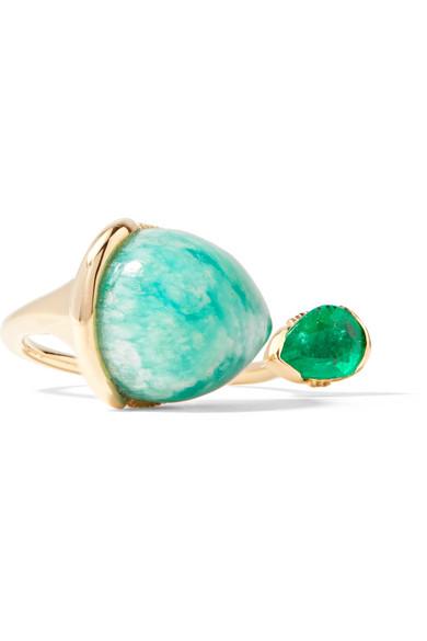 Fernando Jorge - Petals 18-karat Gold Multi-stone Ring