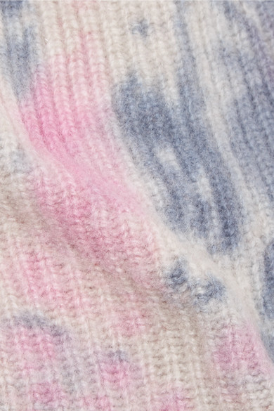 69813906e The Elder Statesman | Watchman tie-dyed ribbed cashmere beanie | NET ...