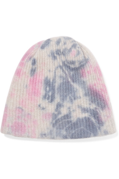 653e9a471 Watchman tie-dyed ribbed cashmere beanie