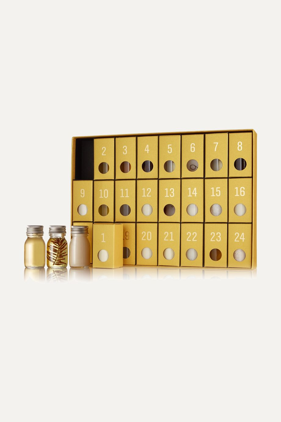 Susanne Kaufmann Gold Holiday Calendar