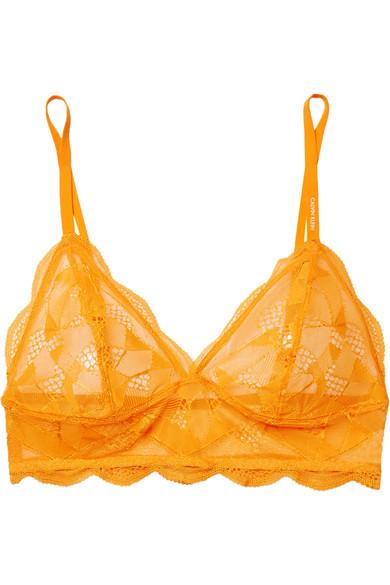 Stretch Lace Soft Cup Bra by Calvin Klein Underwear