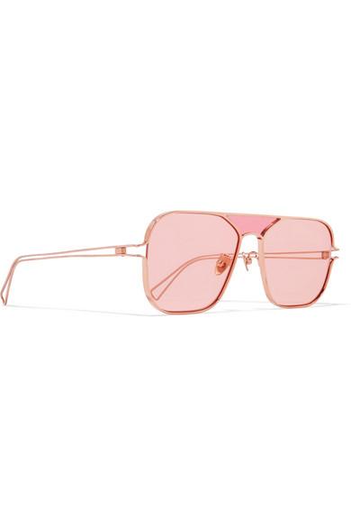 Projekt Produkt Rose Gold-Tone Sunglasses Rejina Pyo vs9AMjf4v