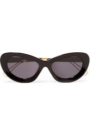 + PROJEKT PRODUKT cat-eye acetate sunglasses