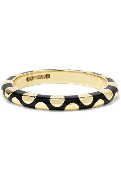 Alice Cicolini - Memphis 14-karat Gold Enamel Ring