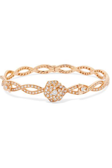 Piaget - Rose 18-karat Rose Gold Diamond Bracelet