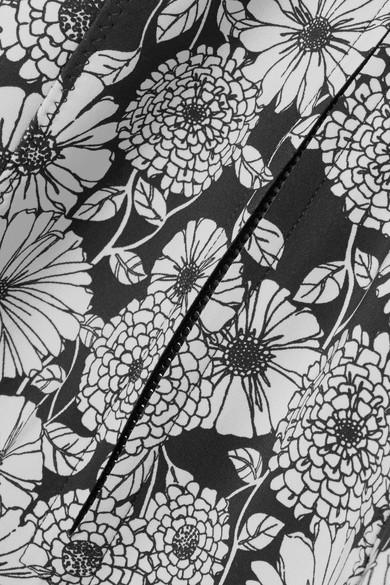 Lisa Marie Fernandez Farrah bondierter Badeanzug mit Print