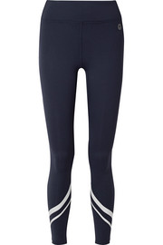 Tory Sport Printed stretch-Tactel leggings
