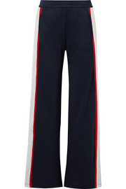 Tory Sport Striped woven wide-leg track pants
