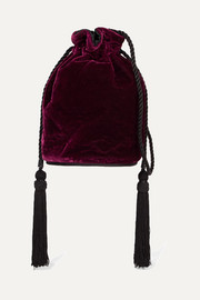Hunting Season Tula velvet shoulder bag