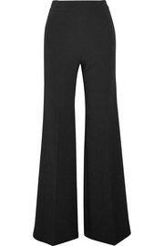 Axon crepe wide-leg pants