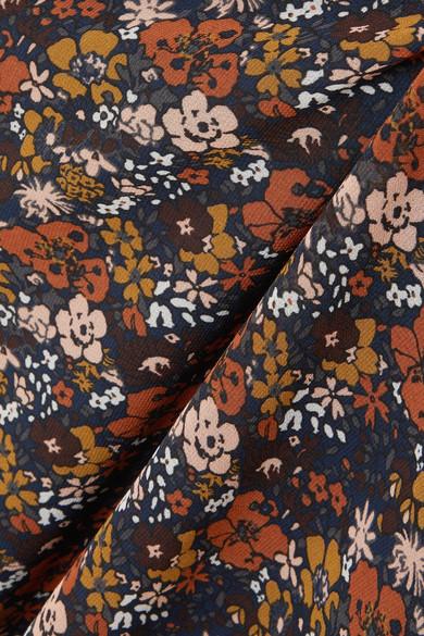 Madewell Minikleid aus Chiffon mit floralem Print