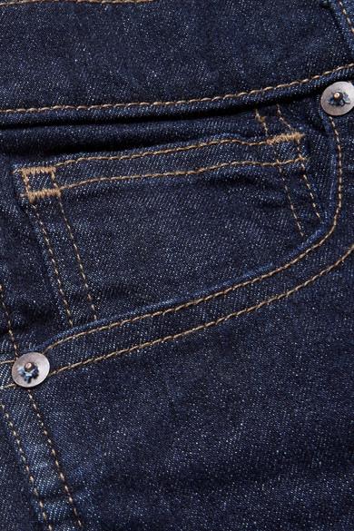 Madewell Verkürzte hoch sitzende Skinny Jeans