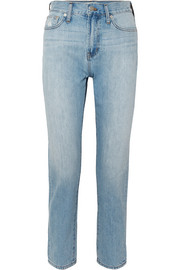 Madewell The Perfect Summer cropped high-rise straight-leg jeans