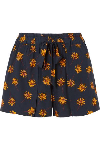Madewell Shorts aus Voile mit Blumenprint
