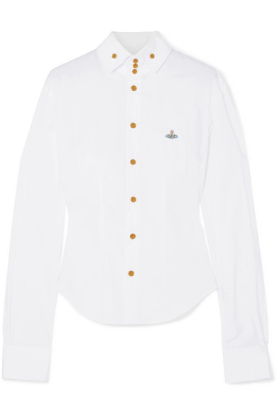 Vivienne Westwood Besticktes Hemd aus einer Baumwollmischung