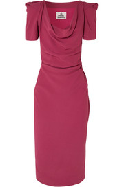 Vivienne Westwood Virginia draped crepe dress