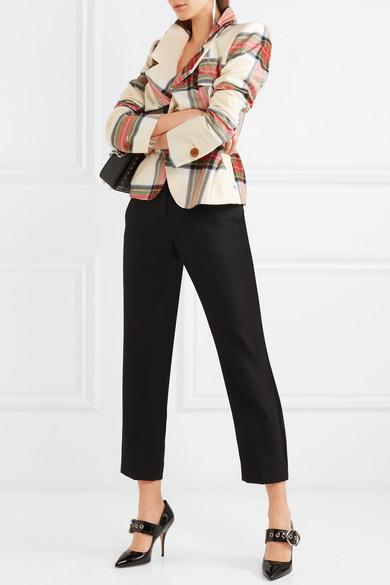 Vivienne Westwood Alcoholic Blazer aus Baumwolle mit Tartan-Muster