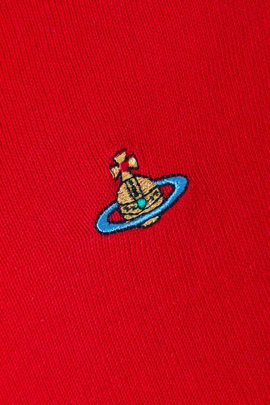 Vivienne Westwood Bestickter Cardigan aus Baumwolle Verkauf Exklusiv v4CAv
