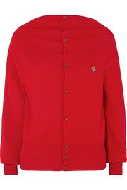Vivienne Westwood Embroidered cotton cardigan