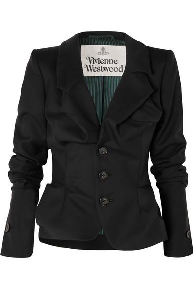 Vivienne Westwood Alcoholic Blazer aus Woll-Twill