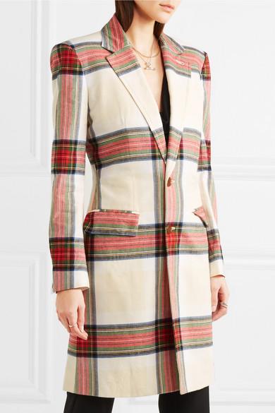 Vivienne Westwood Town Baumwollmantel mit Tartan-Muster