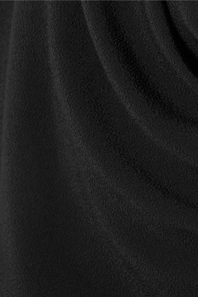 Vivienne Westwood Virginia drapiertes Crêpe-Oberteil