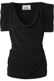 Vivienne Westwood Virginia draped crepe top