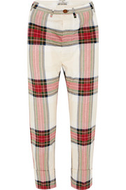 Vivienne Westwood Tartan cotton pants