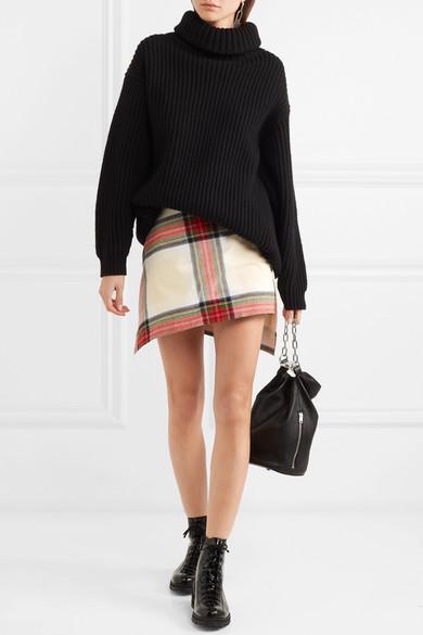 Vivienne Westwood Asymmetrischer Minirock aus Baumwolle