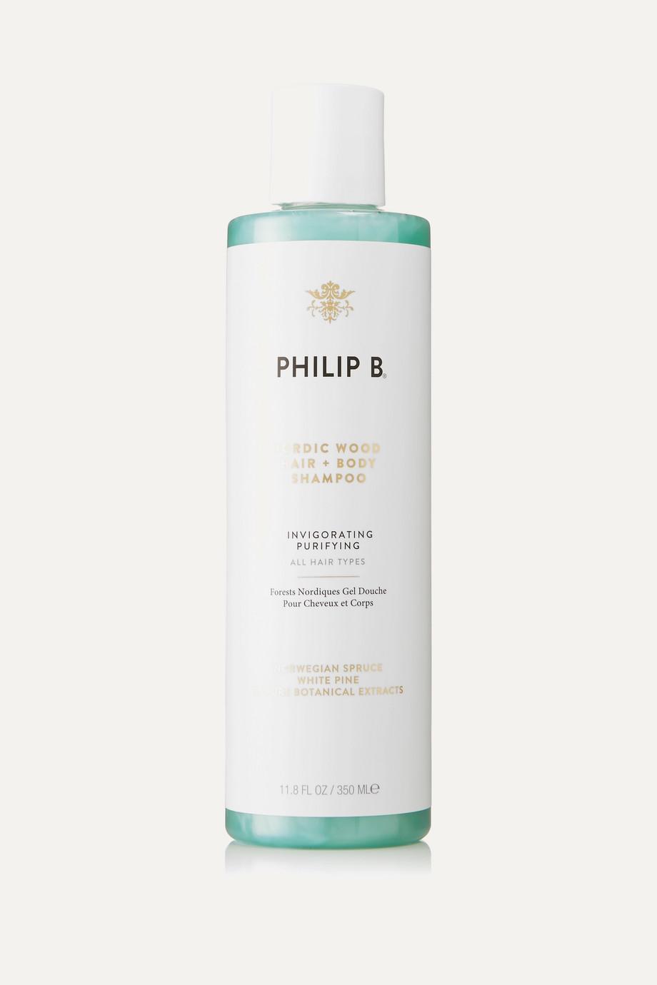 Philip B Nordic Wood Hair + Body Shampoo, 350ml