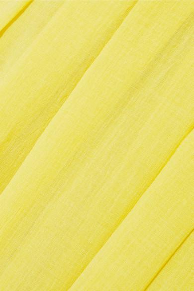Cefinn Kleid aus Voile mit Falten
