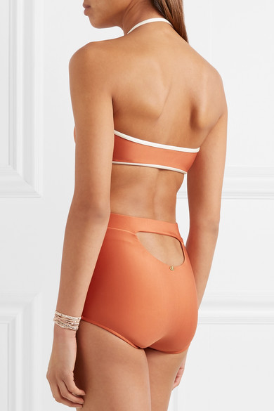 Adriana Degreas Bandeau-Bikini mit Cut-out