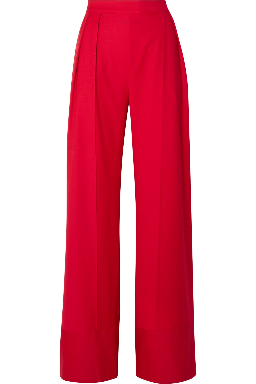 Michael Lo Sordo Wool wide-leg pants