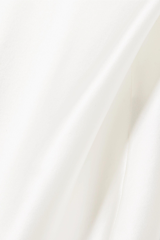 Michael Lo Sordo Silk-satin camisole