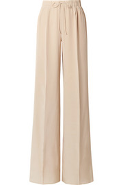 Max Mara Tremiti silk crepe de chine wide-leg pants