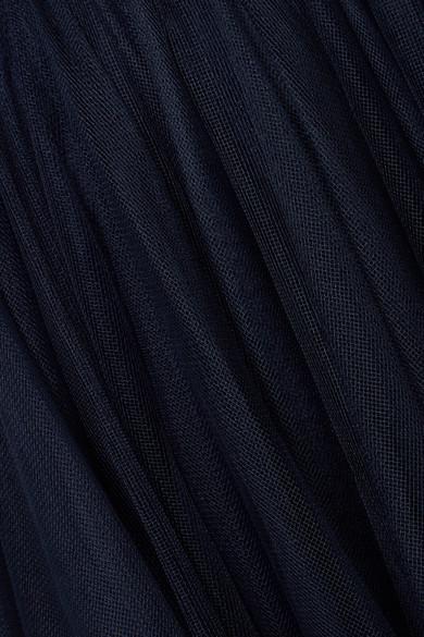 Jenny Packham Verzierte Robe aus Tüll mit Neckholder