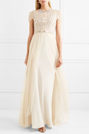 Jenny Packham Crepe gown