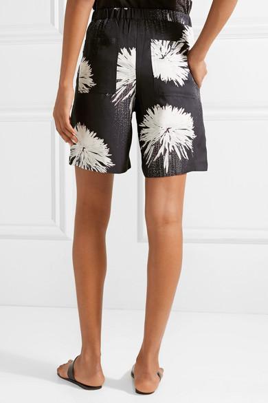 Double Rainbouu Shorts aus bedruckter Popeline
