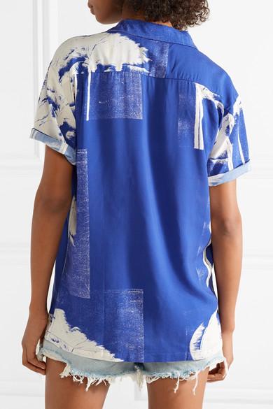 Kauf Erhalten Authentische Online Double Rainbouu Bedrucktes Hemd aus Popeline 8L7nvcqOP