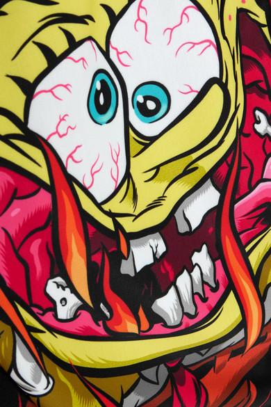 Moschino + Nickelodeon bedruckter Badeanzug