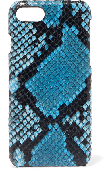 THE CASE FACTORY Python-effect leather iPhone 7 and 8 case